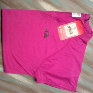 North Face reaxion v-neck tee